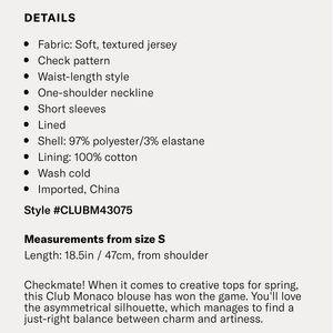 Club Monaco Tops - CLUB MONACO • Tank